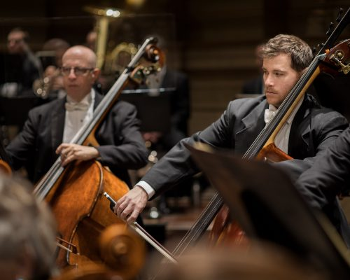 Vancouver Symphony Orchestra plays at the Orpheum theatre