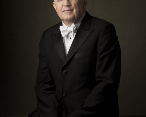 Vancouver Symphony Orchestra's Music Director and Conductor Bramwell Tovey.