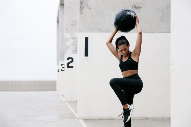Circuit training in Los Angeles with Deja Lightly